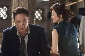 John Cusack with costar Gong Li