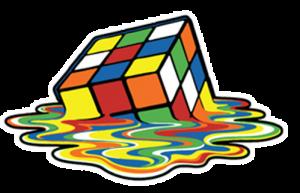 Rubiks melt