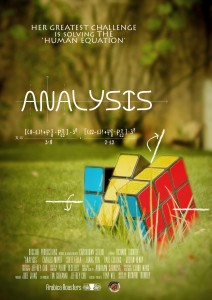 Analysis - short film poster. Designed by Yang Lingyan